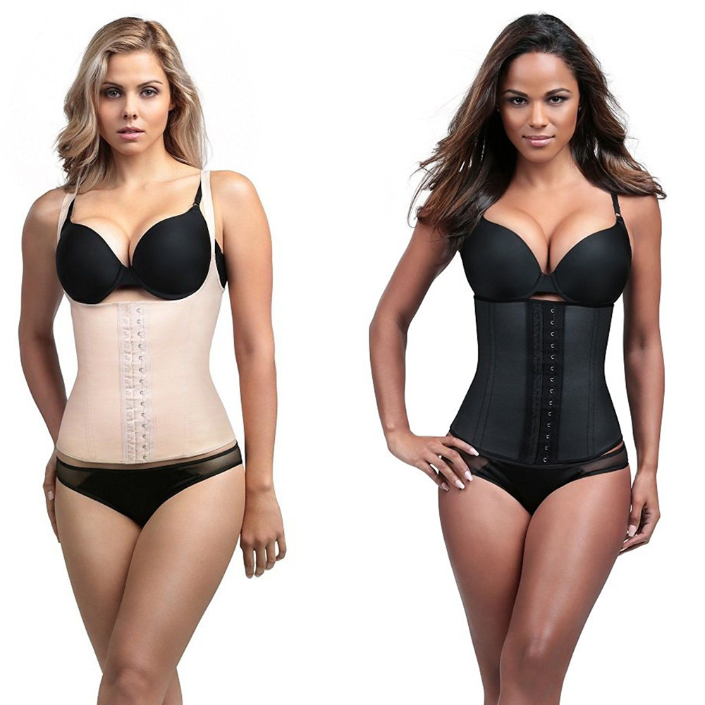 6c1c91dc28550 Details about Diva Fit by Squeem 62CC Waist Trainer Latex Workout Gym  Girdle Shapewear DivaFit