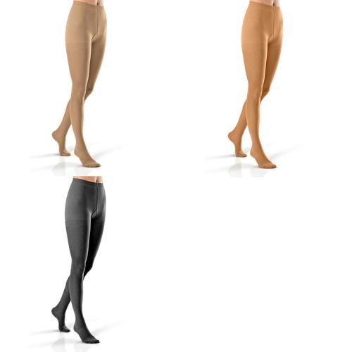 7a67ab35c Jobst Compression 8-15 Mmhg Pantyhose Waist High Stockings ...